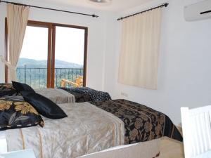 Facilities at Villa Suead Turkey twin bedroom with view